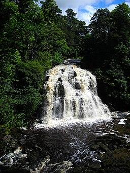 Bonnington Linn, Falls of Clyde - geograph.org.uk - 487824