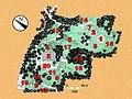 Botanischer Garten Der Universitat Zurich map.jpg