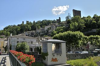 Bourdeaux - The old village