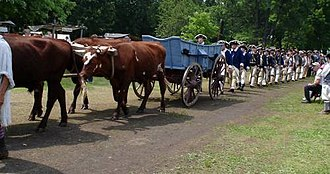 Joseph Bowman - Major Joseph Bowman's funeral and funeral procession were recreated at the 2006 Spirit of Vincennes Rendezvous