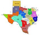 Boy Scouts of America councils in Texas (approximate boundaries).jpg