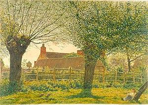 Binsey, Oxfordshire - Image: Boyce Binsey 1862