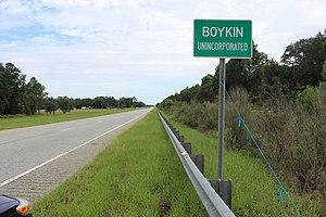 Boykin, Georgia - Boykin limit on US27 / GA1