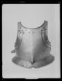 Bröstharnesk för tornering. Troligen 1600-talets första hälft - Livrustkammaren - 79331.tif