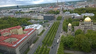 Government of Latvia - Image: Brīvības bulvāris, Riga