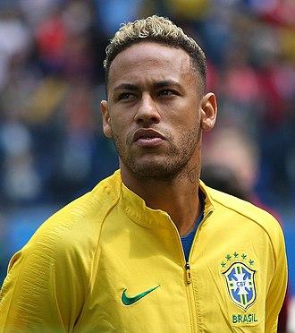 Neymar - Neymar with Brazil at the 2018 FIFA World Cup