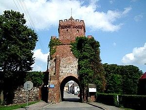 Trzcińsko-Zdrój - Brama Chojeńska Chojna Gate)