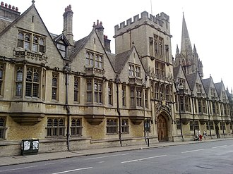 Reginald Heber - Brasenose College, Oxford (modern photograph)