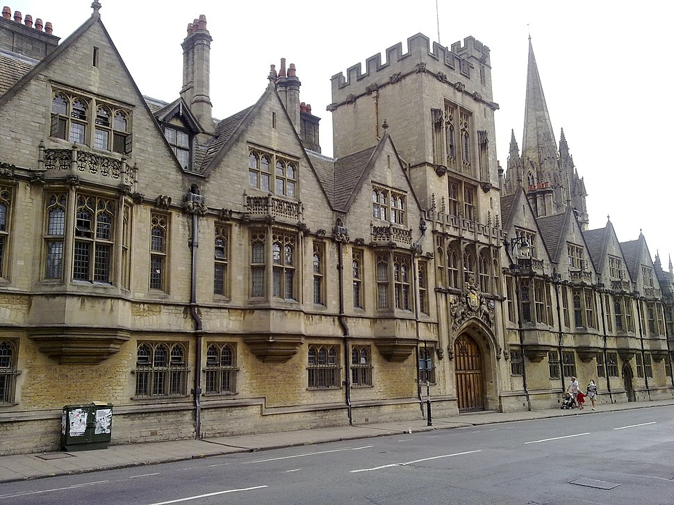 Brasenose College from the High Street