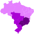 Brazilian Regions by GDP per capitaa.png