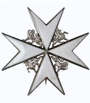 Charles Wood, 3rd Earl of Halifax -  KStJ Breast Star