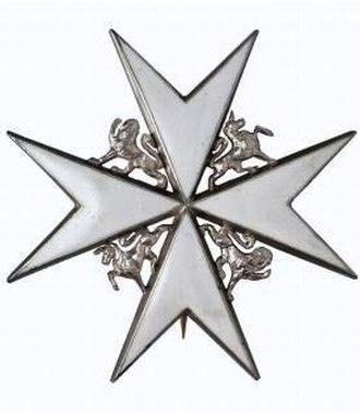 Tom Skinner - KStJ insignia