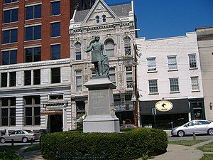 John C. Breckinridge Memorial - Image: Breckinridge Memorial 1
