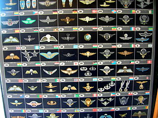 Parachutist Badge Wikimedia disambiguation page