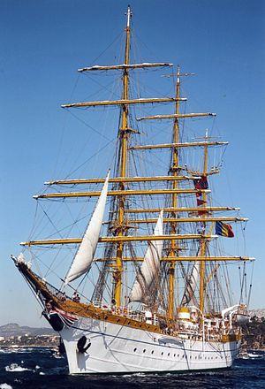 Mircea (ship) - Image: Bricul Mircea 2