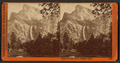 Bridal Veil, 900 feet. Yosemite Valley, by Watkins, Carleton E., 1829-1916.png