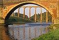 Bridges over the River Tweed at Leaderfoot - geograph.org.uk - 585356.jpg