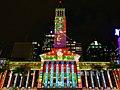 Brisbane City Hall light projection show 2018, 02.jpg