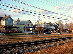 Broad Street Palmyra NJ from RiverLINE Tracks.jpg