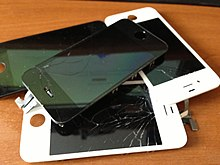 Broken apple iphone 4s display pile.jpg