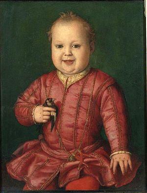 Portrait of Giovanni de' Medici as a Child - Image: Bronzino giovanni de medici 1543