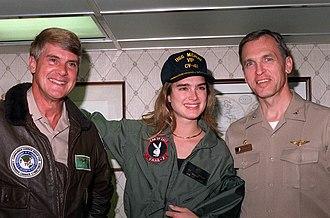 Brooke Shields - Image: Brooke Shields 1991Jan