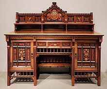 Drawing Room Cabinet Designed By Bruce James Talbert