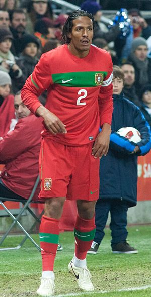 Bruno Alves - Alves playing for Portugal in 2011.