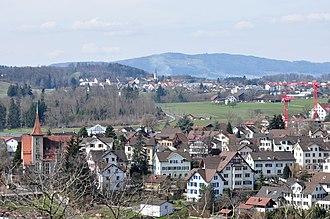 Bubikon - Image: Bubikon Pfannenstiel Laufenbach (Rüti) IMG 4631