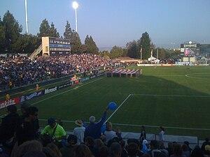 Stevens Stadium - Image: Buck Shaw 5308
