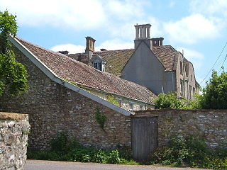 Buckland St Mary village in the United Kingdom