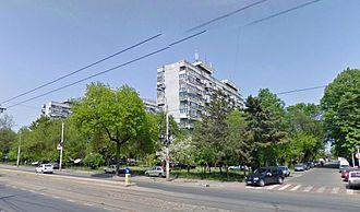 Bucureștii Noi - An apartment block in Bucureştii Noi, Sector 1.
