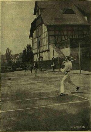 Hungarian Tennis Championships - Image: Budapest, Margitsziget, Tóth Ede 1908