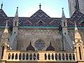 Budavári Nagyboldogasszony-templom, északi oldala, 2016 Budapest.jpg