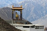 Buddhist Temple located around the beautiful Himalayas at Mustang.jpg