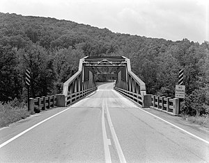 National Register of Historic Places listings in Newton County, Arkansas - Image: Buffalo River Bridge