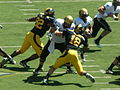 Buffaloes on offense at Colorado at Cal 2010-09-11 13.JPG