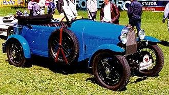 Bugatti 8-cylinder line - Bugatti Type 40 Grand Sport Tourer 1929