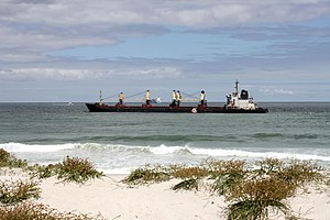 Bulk carrier Seli 1, stranded off Cape Town.jpg
