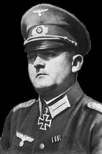 Dietrich von Choltitz - Von Choltitz in 1940