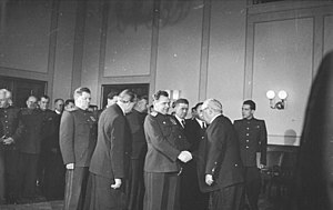 Soviet Military Administration in Germany - Wilhelm Pieck and the military administration members