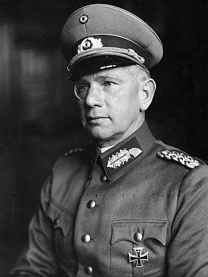 Walther von Reichenau - Reichenau in 1933