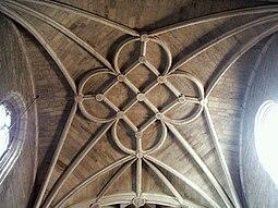 Bóveda tardogótica de la cabecera