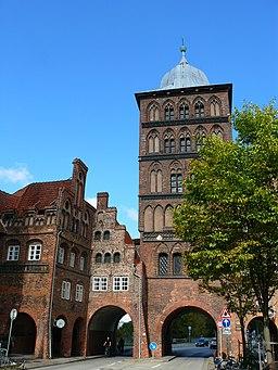 Burgtor Lübeck Stadtseite