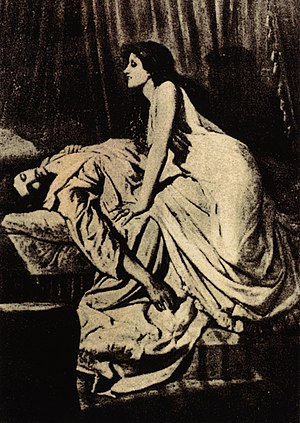 Vampire - The Vampire, by Philip Burne-Jones, 1897