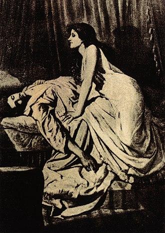 Vampire - The Vampire, by Philip Burne-Jones, 1897