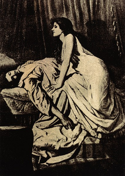 Philip Burne Jones, 'The Vampire' (1897), sourced from Wikimedia Commons
