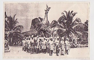 Burung Petala Processions - Burung Gagak Sura from the neighbouring Pattani Kingdom in the 19th century, predecessor of the Petala Birds.