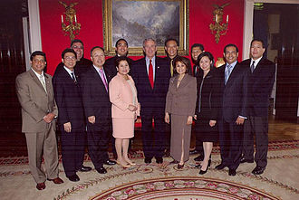White House Initiative on Asian Americans and Pacific Islanders - President George W. Bush signs Executive Order 13339 to increase economic opportunities for and improve the quality of life AAPIs on June 6, 2001.