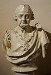 Bust del Comte d'Aranda, avantcambra del palau del marqués de Dosaigües.JPG